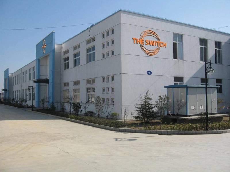 Задача Китая: присутствие Switch в Китае включает этот сайт в Луане. Изображение предоставлено Yaskawa's The Switch