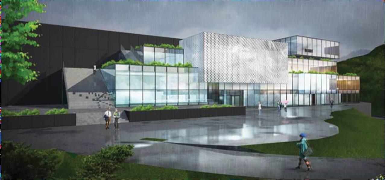 शक्तिशाली आर एंड डी: यूनिटेक ऑफशोर सिस्टम की योजना बनाई गई आर एंड डी सेंटर एक गीगा फैक्ट्री है। चित्रण: सौजन्य यूनिटेक