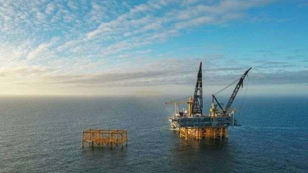 立管平台是项目第一阶段Johan Sverdrup油田组成现场中心的四个平台之一Photo Photo Statoil