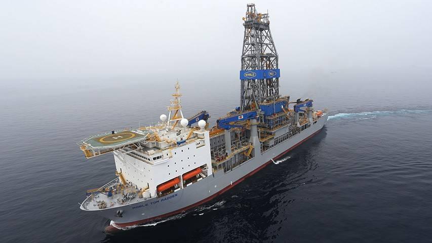 贵族汤姆·马登钻井船(照片:Hess)
