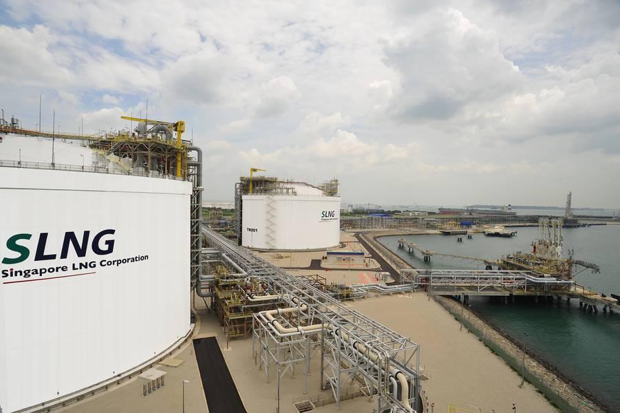 (Φωτογραφία: LNG Corp της Σιγκαπούρης)