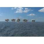 Phase 2 will add a fifth platform to the 'The North Sea Giant', Johan Sverdrup. Credit: Equinor