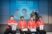 Winners of the SPEICoTA Energy Apprentice competition, another initiative supported by SPE Aberdeen Photo SPE