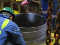 Completed North Sea Caisson Replacement with GMC Mechanical Connector (Photo: GMC)