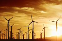 File Image: a land based wind farm (Credit: AdobeStock)