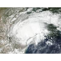 On August 26 NASA-NOAA's Suomi NPP satellite captured a visible image of Tropical Storm Harvey over Texas. (Credit: NOAA/NASA Goddard Rapid Response Team)