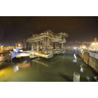 Dry Dock Barge  Courtesy Ithaca Energy