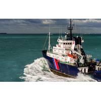 A bourbon offshore support vessel underway (CREDIT: Bourbon)