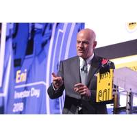 Eni CEO Claudio Descalzi (Photo: Eni)