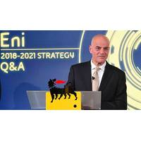 Eni CEO Claudio Descalzi(Photo: Eni)