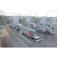 Company's mobile gas turbine power plant Courtesy APR Energy
