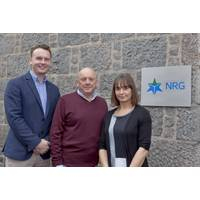 Daniel Mackay, Andrew Mackay and Erica McPherson (Photo: NRG Group)