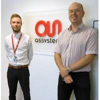 David Lister, Senior Stress Engineer and Dr. Adam Towse, Assystem's UK Head of Discipline for Stress at Assystem in the UK.