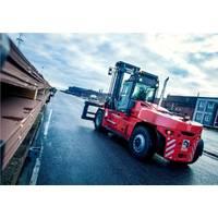 Forklift Truck Photo Kalmar