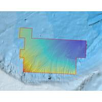 High-resolution bathymetric data acquired by Fugro, draped over pre-existing, publicly available GEBCO data for comparison (Image: Fugro)