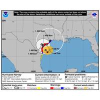 Hurricane Harvey Forecast (Photo: NOAA)