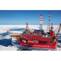 For illustration only - A Gazprom offshore platform - Image Credit: Gazprom