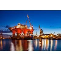 File Image: an idled oil rig in a shipyard (CREDIT: AdobeStock / © Nightman