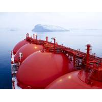 File Image: A typical LNG Carrier at Sea (CREDIT: GAC)
