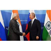 IndianPrime Minister, Narendra Modi and the President of Russian Federation, Vladimir Putin at the Joint Press Statements, at Vladivostok, in Russia on September 04, 2019. Photo: PIB