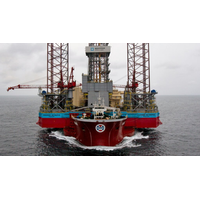 The Maersk Intrepid jack-up rig. (Photo: Maersk Drilling)