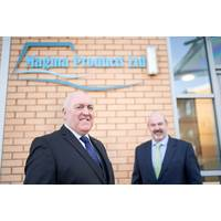 Magma Products managing director Phil Tweedy (left) and chairman Paul Rushton (Photo: Magma Products)