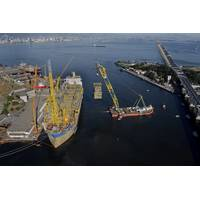 Mammoet worked closely with SBM Offshore to optimize the lifting schedule (Photo: Mammoet)