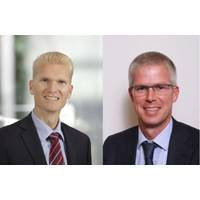 Marco Wirén(Left) and Arjen Berends. Photos: Wärtsilä Corporation