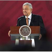 Mexican President Andres Manuel Lopez Obrador (Mexican Government photo)