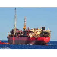 The Ngujima-Yin FPSO is used for production from Greater Enfield Project - Image by Bruce Jacques - MarineTraffic