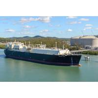 File photo: Methane Spirit loads from the Australia Pacific LNG Gladstone terminal (Photo: Teekay)