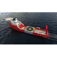 Retrofit: new work in wind for an anchor-handling vessel. Illustration: courtesy Unitech