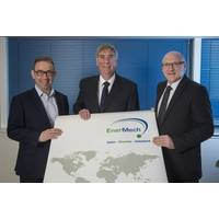 Pics left to right: David Drysdale - Pipelines, Industrial and Process Services Director, EnerMech  Phil Bentley – Technical Director, EnerMech  Roy Wood – Managing Director, Denholm Valvecare Ltd (Photo: EnerMech)