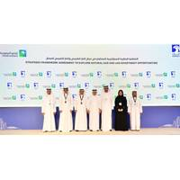 Saudi Aramco and ADNOC MoU signing ceremony. Photo: Saudi Aramco