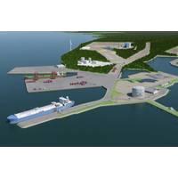Schematic of Manga LNG terminal courtesy of Wärtsilä