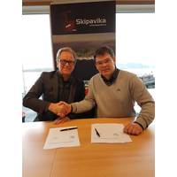 Semco Maritime and Skipavika signing (Photo: Semco Maritime)
