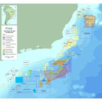 Map showing CGG's 3D data coverage in the pre-salt area offshore Brazil. (Photo: CGG)