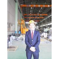 Yoshitaka Teramoto, President of Teramoto Iron Works.