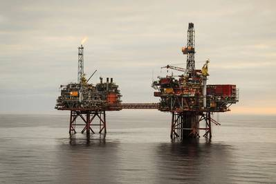 Captain in the U.K. North Sea (Photo: Chevron)