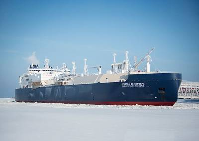 LNG carrier Christoph de Margerie (File photo: SCF Group)