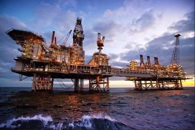 The Deepwater Gunashli platform, offshore Azerbaijan - Image credit: BP/Flickr