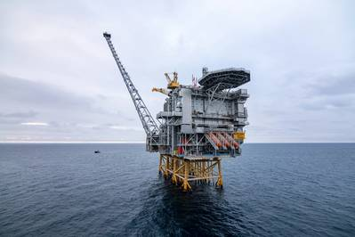 Wood is delivering brownfield modifications services to Equinor's Martin Linge offshore installation on the Norwegian continental shelf. (Photo: Jan Arne Wold / Woldcam / Equinor)