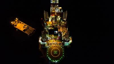 Drilling at the Iulia-1 well (Photo: BSOG)