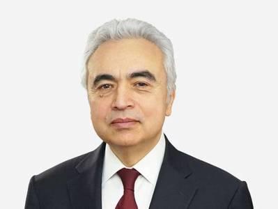 IEA' Executive Director Fatih Birol - Credit: IEA