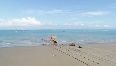 First Subsea delivers Cable Protection System for Taiwan project. Image: First Subsea
