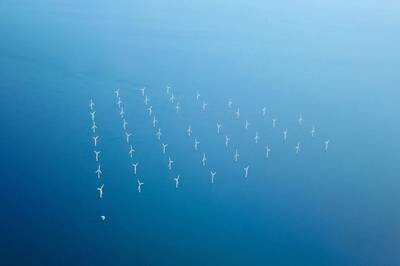 For illustration; Offshore wind farm . Image by badaho/AdobeStock