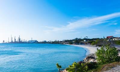 File Image: the idled Aruba refinery (AdobeStock / © Hans