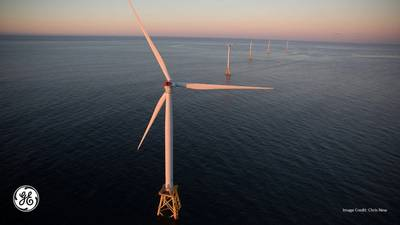 Image for illustration - Credit: Parc éolien en mer de Saint-Nazaire / GE / Chris New