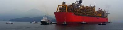 Image: Shell Prelude FLNG facility
