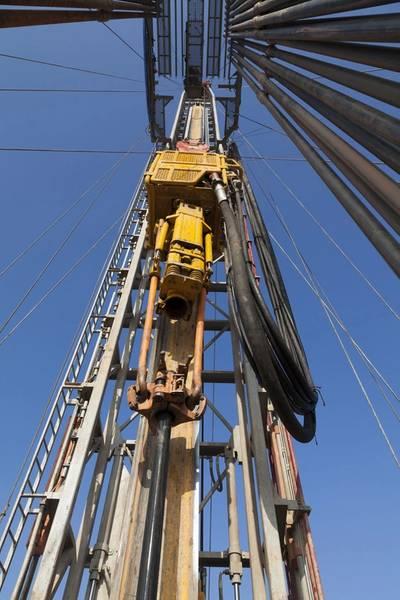 File Image: a typical land-based shale rig. (CREDIT: AdobeStock)
